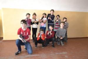 Общее фото с игры 12.04.2015, Кронпринц